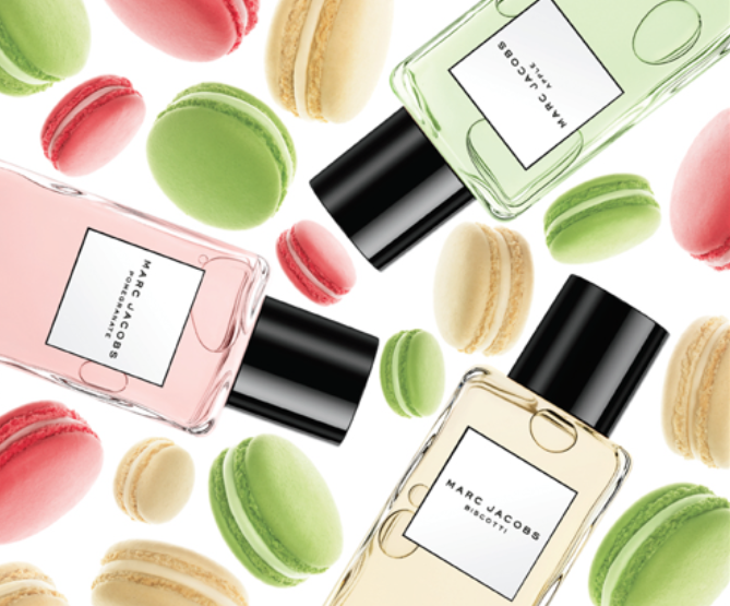 Marc Jacobs Splash Indulge in an array of macaroons at a patisserie on a