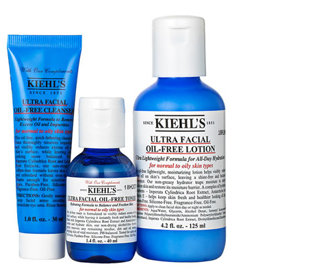 kiehls � new quotultra facialquot oil free products modern