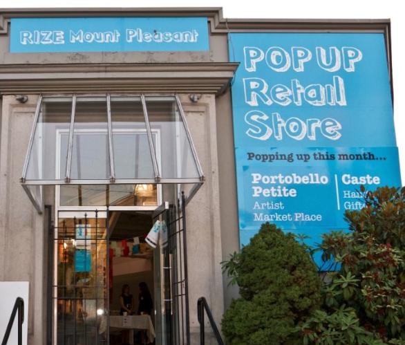 Rize Mount Pleasant Storefront