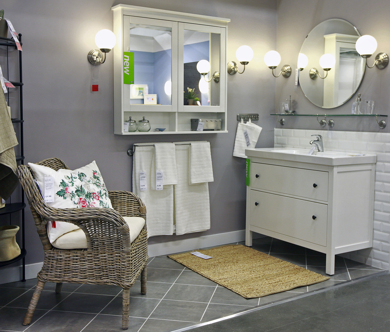 Bathroom vanity.. Hemnes by Ikea Design Pinterest