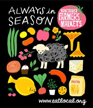 2013 vancouver farmers markets