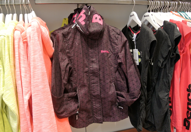 bench bbq jacket vancouver