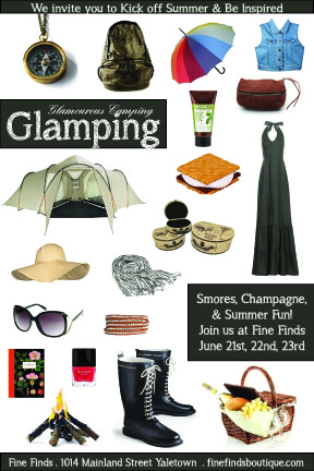 fine finds glamping