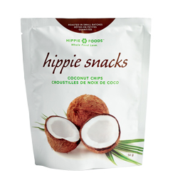 hippie snacks coconut chips