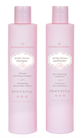 principessa terme tresses shampoo & conditioner