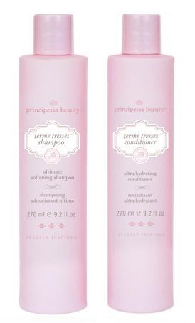 principessa terme tresses shampoo & conditioner