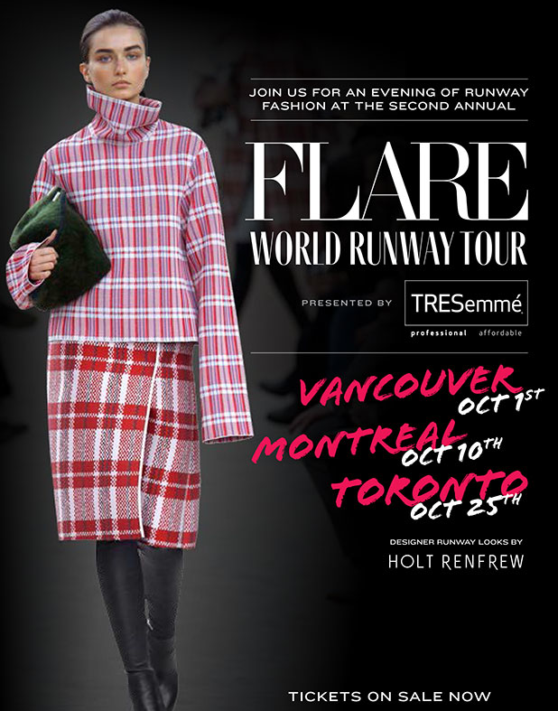 flare world runway tour 2013