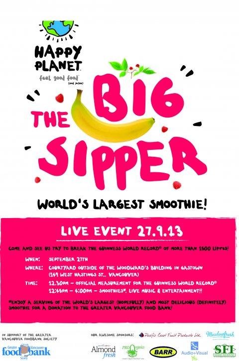 the big sipper