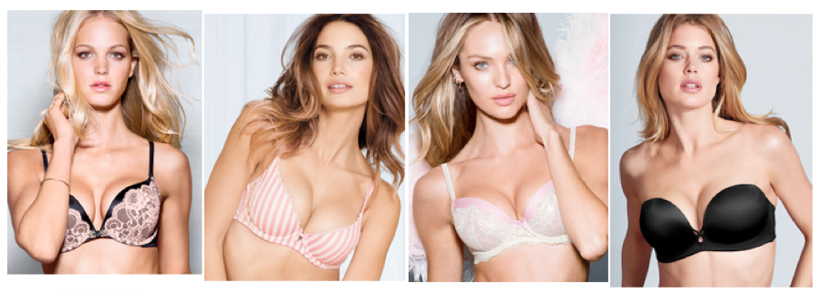 These four iconic lingerie collections are now available at Victoria's Secret on Robson Street including the all new BODY BY VICTORIA line.