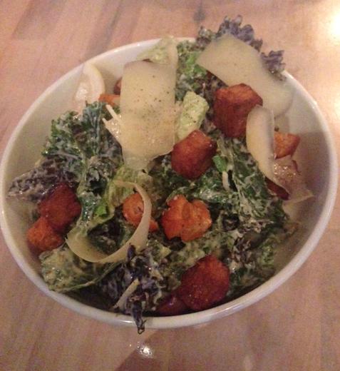 the acorn kale salad