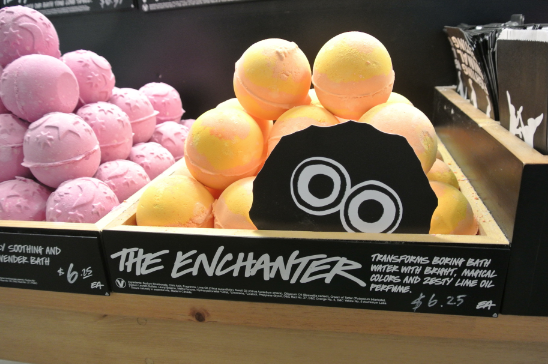 The Enchanter Bath Bomb ($6.25) at LUSH