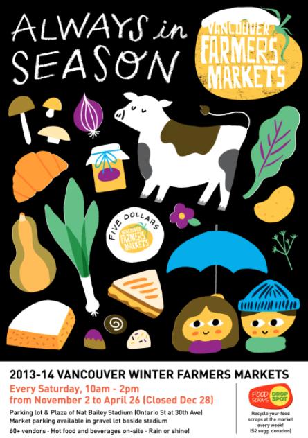 vancouver winter farmers market 2013