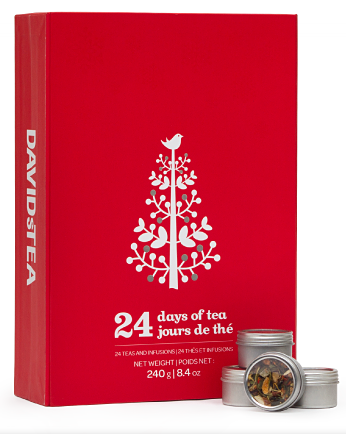 DAVIDsTEA 24 Days of Tea ($34.50)