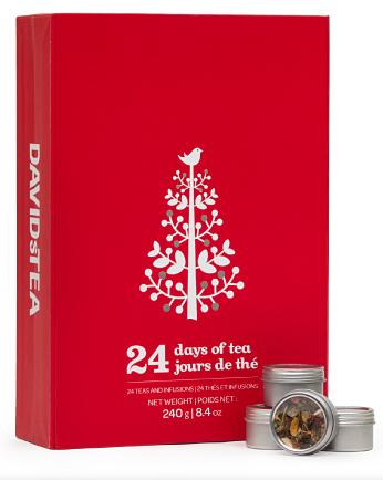 DAVIDsTEA 24 Days of Tea ($34.50)