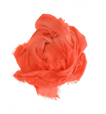 OBAKKI SIGNATURE RED SCARF