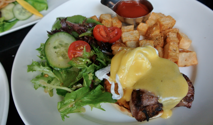 black and blue steak benny vancouver