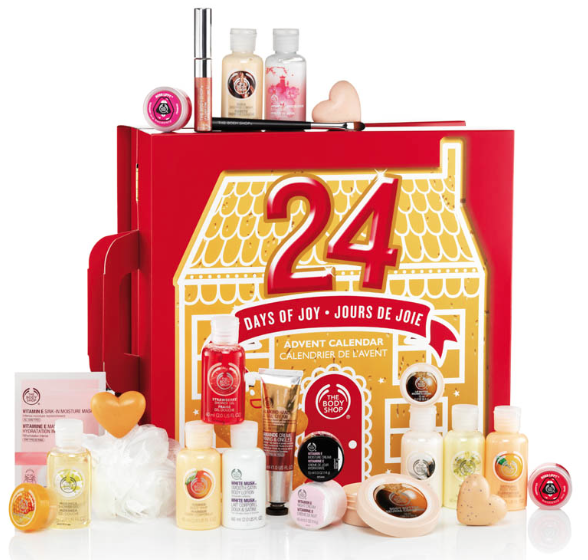 The Body Shop 24 Days of Joy ($75)