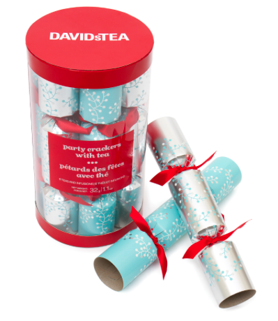 DAVIDsTEA Party Crackers