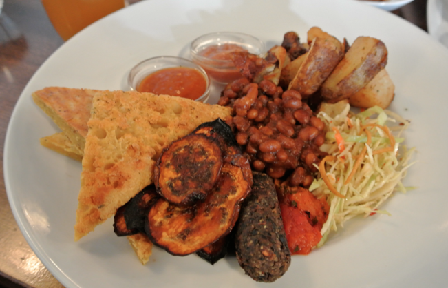 Graze Vegetarian English Breakfast