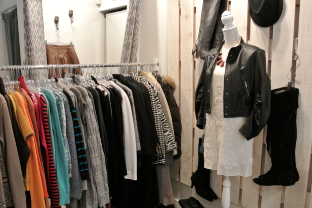 mine and yours boutique vancouver interior