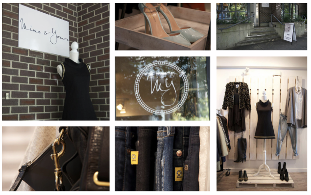 mine and yours boutique vancouver