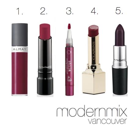 modern mix vancouver plum lips