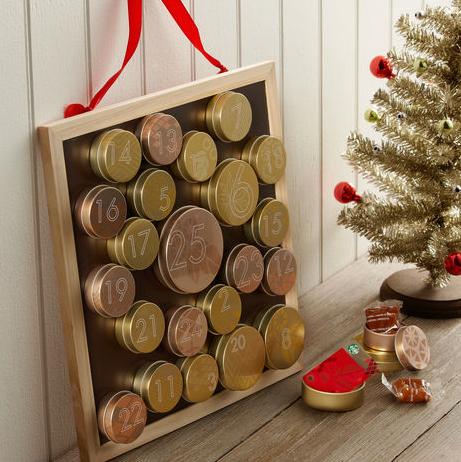 Starbucks Tin & Chalkboard Advent Calendar