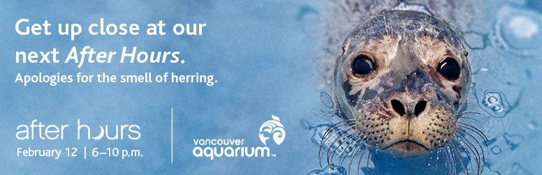 After Hours Vancouver Aquarium 2014