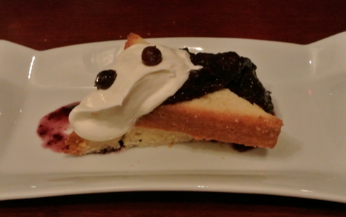 salmon and bannock vancouver saskatoon berry dessert