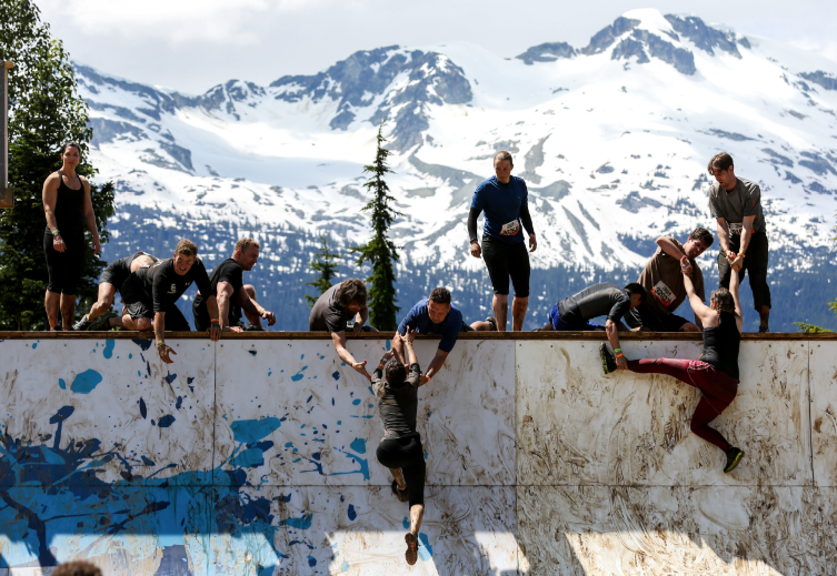 tough mudder everest whistler