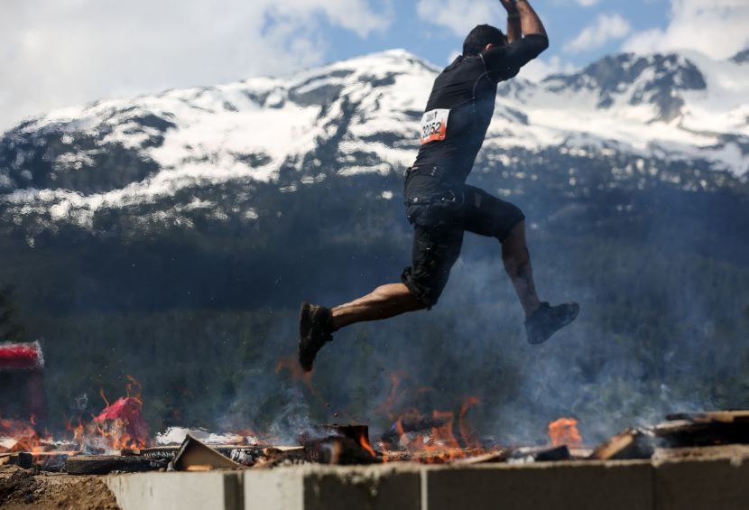 tough mudder flame
