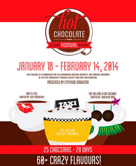 vancouver hot chocolate festival 2014