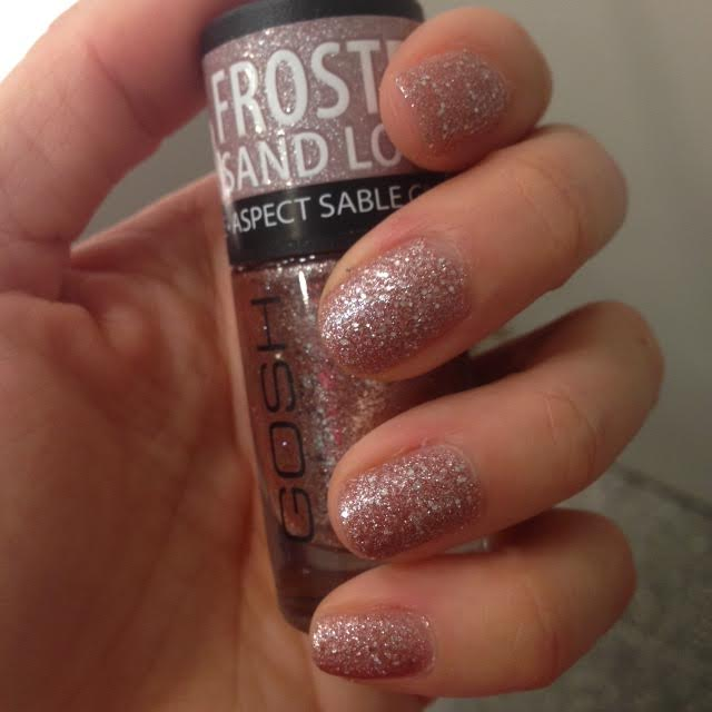 gosh frosted nail lacquer spring 2014