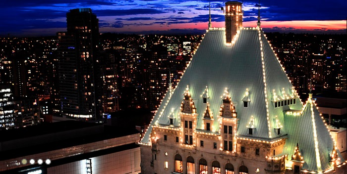 The Roof at Fairmont Hotel Vancouver