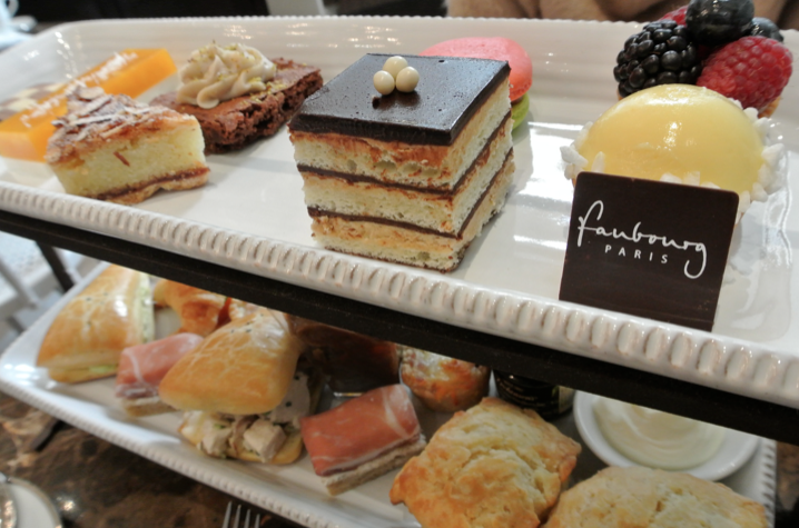 faubourg afternoon tea pastries