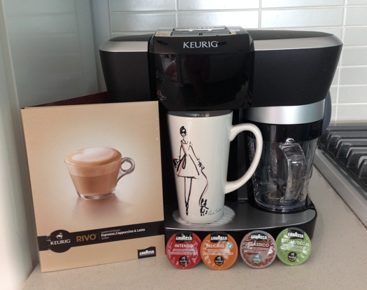 Lavazza Coffee Maker System : Challenge Accepted: 10 Coffee Recipes in 10 Days with the Keurig Rivo System Modern Mix Vancouver