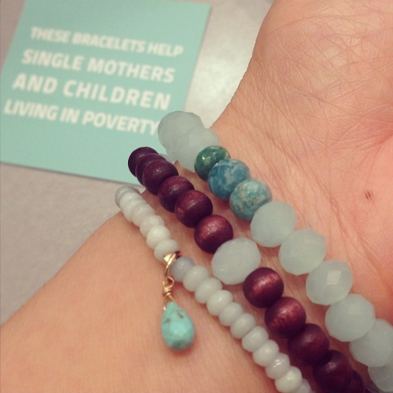 blue ruby mothers day bracelets cause we care foundation