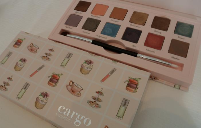 cargo cosmetics afternoon tea palette