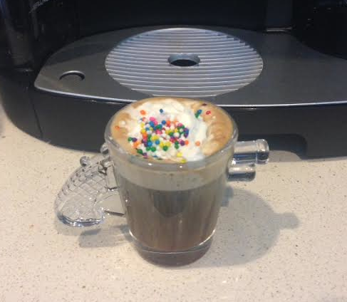 keurig coffee shot