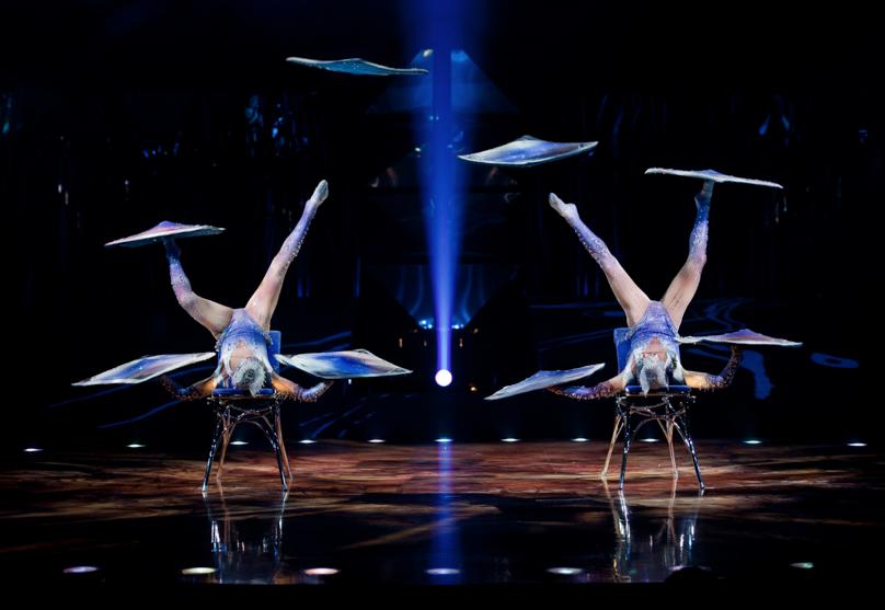 cirque du soleil feet jugglers
