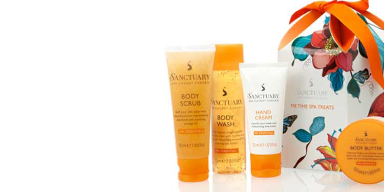 3. At-Home Spa Day with Sanctuary Spa Products