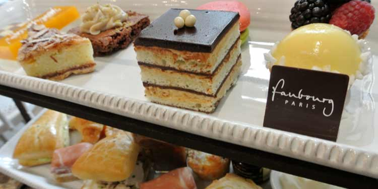 5. High Tea at Faubourg in Kerrisdale