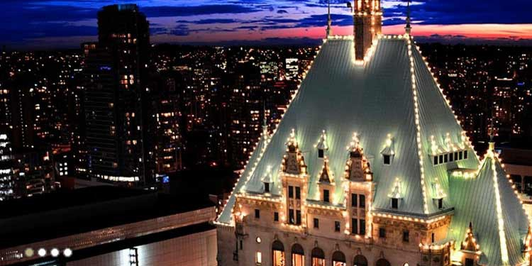 8. Dinner at The Roof at Fairmont Vancouver