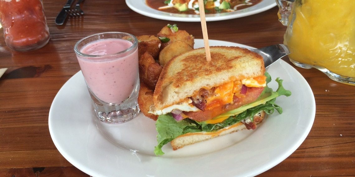 the local kitsilano fried egg sandwich