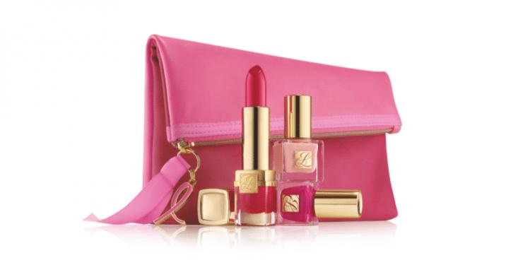 ESTEE LAUDER: Evelyn Lauder x Elizabeth Hurley Dream Pink Collection