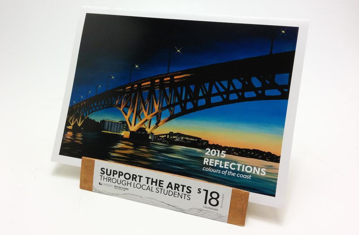 capilano IDEA reflections art show 2015 3