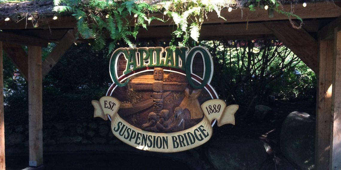 capilano suspension bridge park entrance