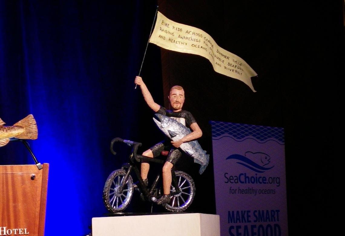 chefs for oceans ned bell biking