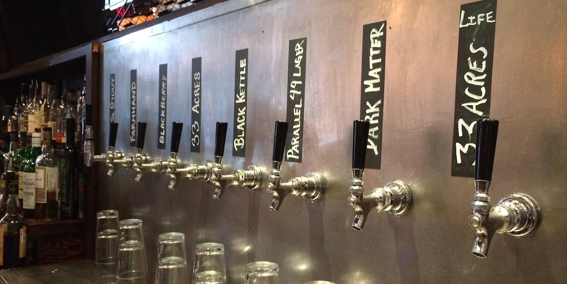 the oakwood on tap