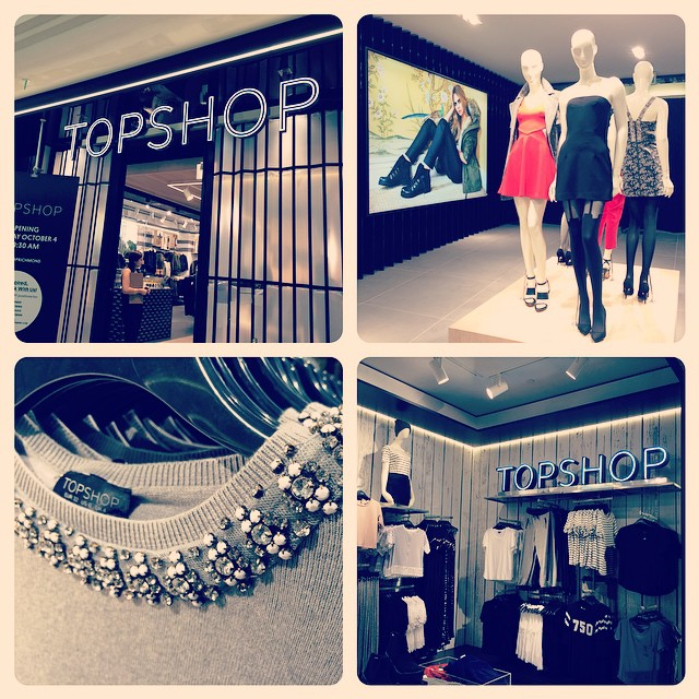 At the opening of TOPSHOP Richmond Centre. Did you know this is their 10th Canadian location?